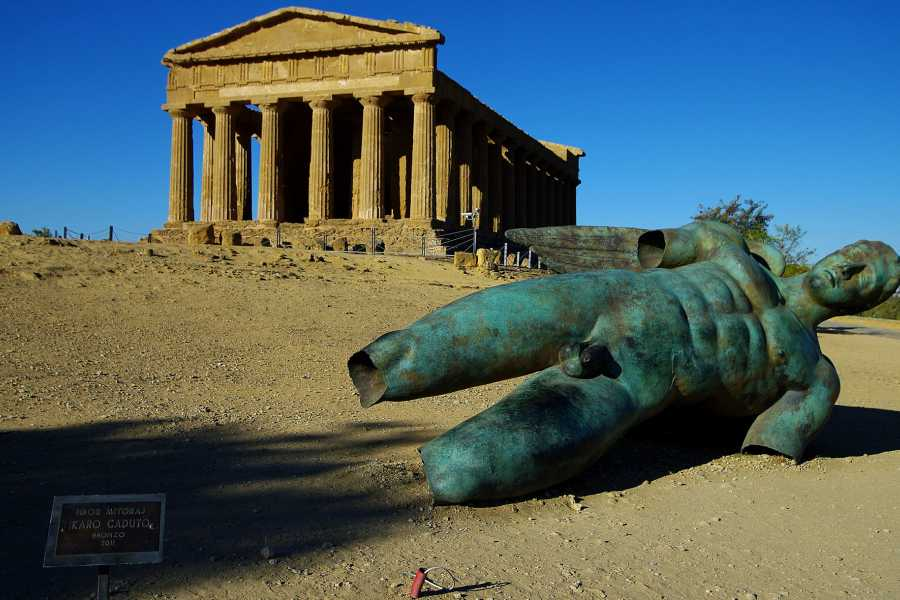 Di Nocera Service Tour of Agrigento, Temples Valley and Scala dei Turchi