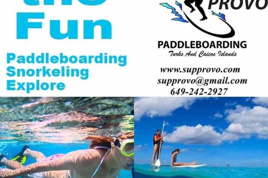 Kite Provo & SUP Provo Eco Tour Snorkel Paddle Tours