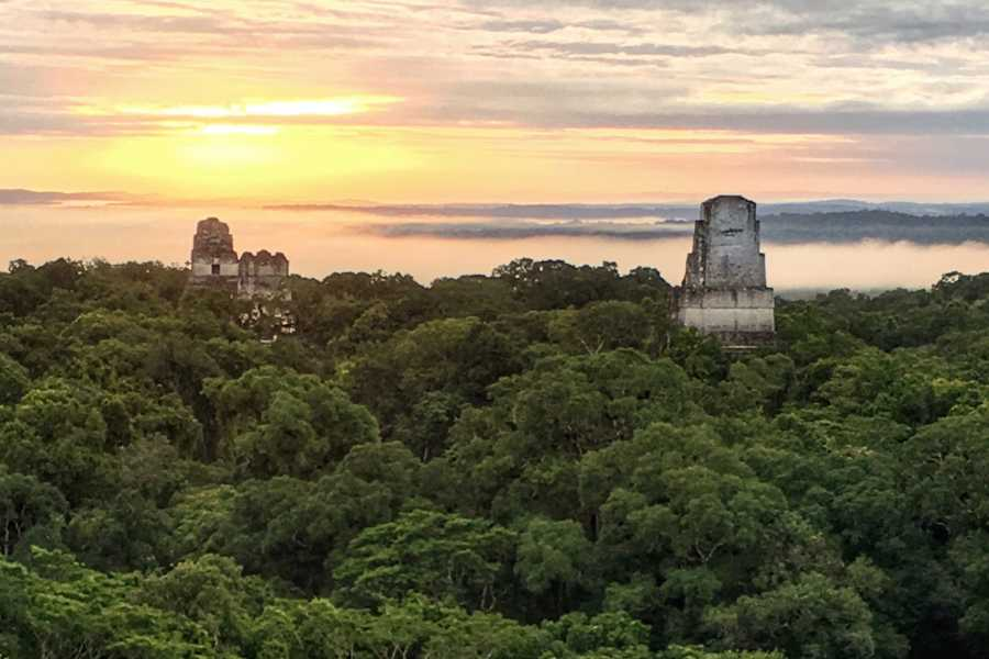Gem Trips 03:15 Tikal Sunrise from hotels in Flores