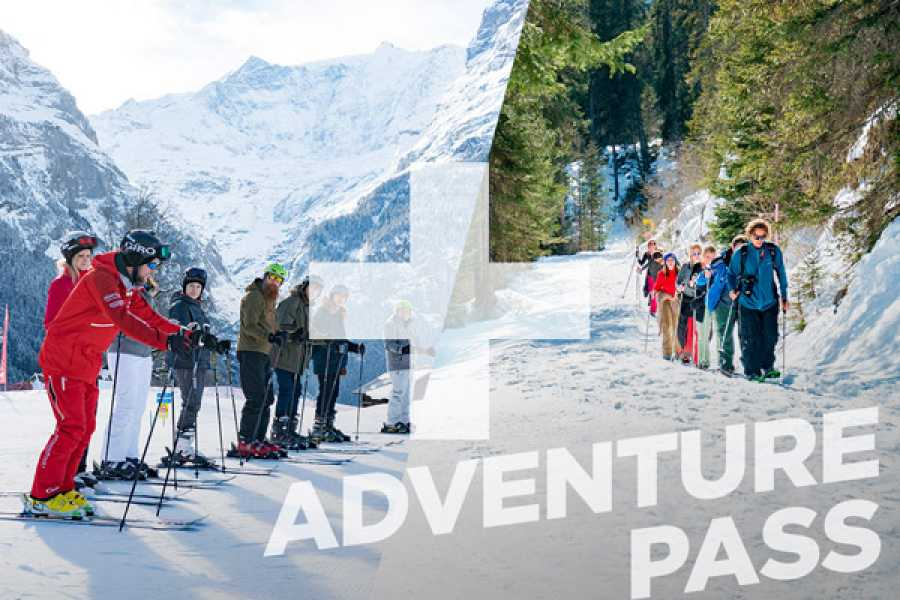 Outdoor Interlaken AG 1 Day Beginner Package + Snowshoe