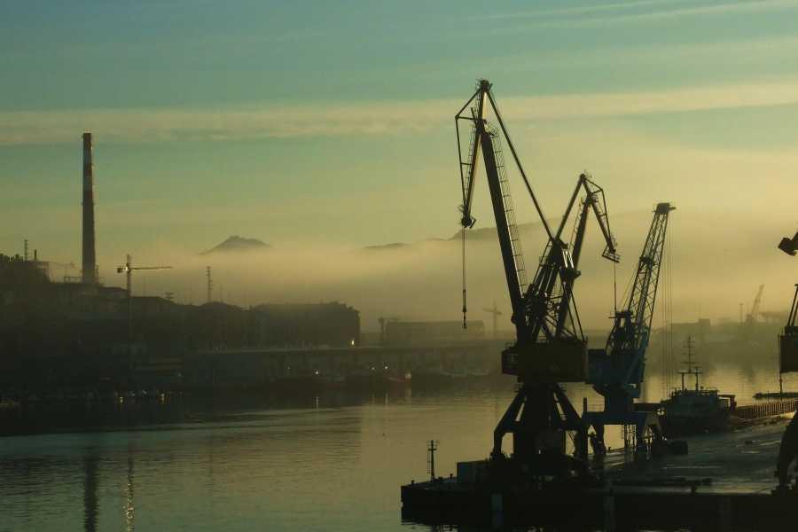 Kultour Incoming Service Pasaia, bahía industrial