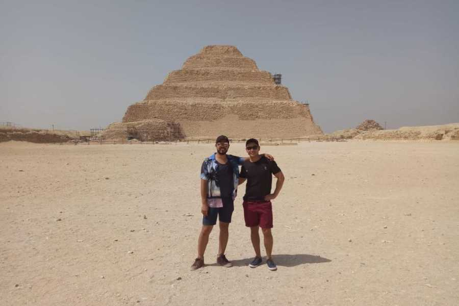 EMO TOURS EGYPT HALF DAY TOUR TO MEMPHIS SAKKARA AND DAHSHUR PYRAMIDS
