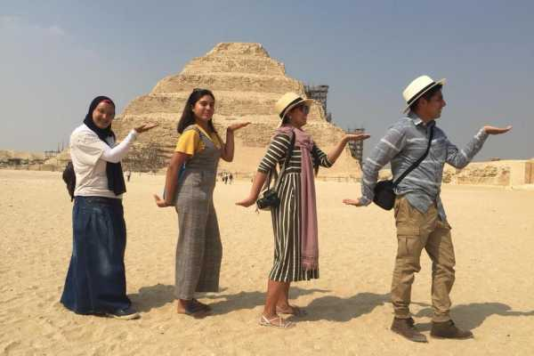 EMO TOURS EGYPT 6 Hours half day tour to Sakkara Memphis Dahshur with private tour guide