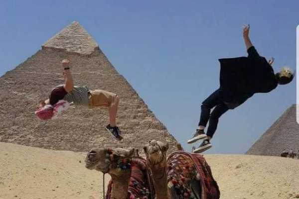 EMO TOURS EGYPT Half day tour to Giza pyramids and 1 hour felucca ride on the Nile