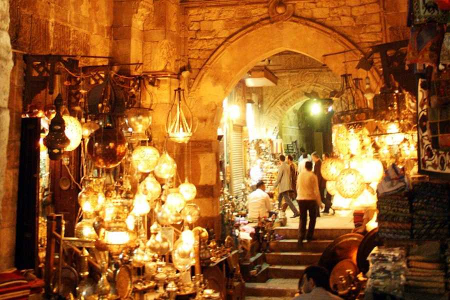 EMO TOURS EGYPT Half Day Tour: El Moez Street, Old Mosques Al Azhar Park and Khan EL Khalili Bazaar