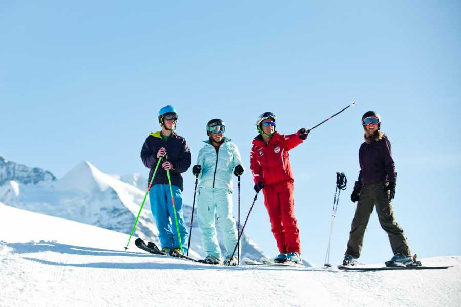 Outdoor Interlaken AG 半天私教课程(2.5 hour Private ski lesson)