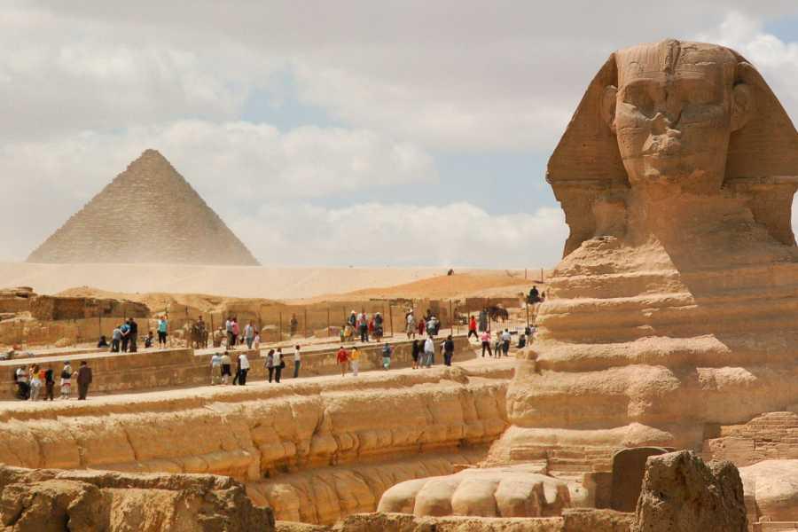 EMO TOURS EGYPT Full day tour to Giza Pyramids Memphis Sakkara and Dahsure