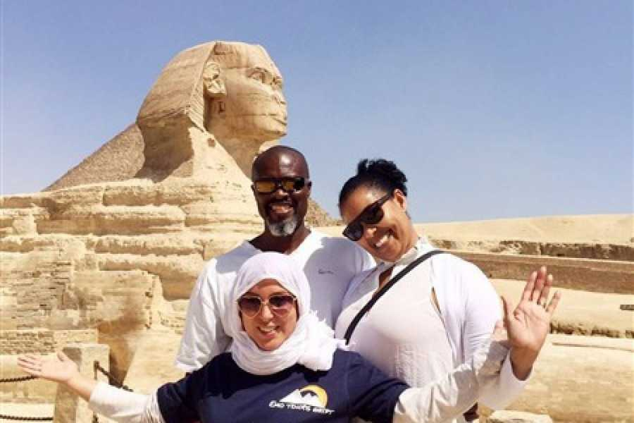 EMO TOURS EGYPT Guided trip to Giza pyramids Sphinx with lunch