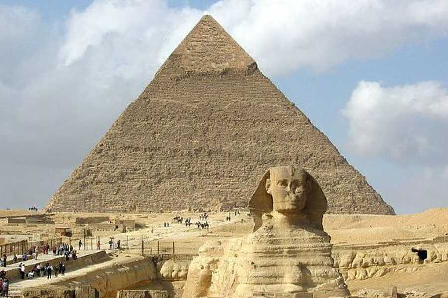 EMO TOURS EGYPT Half day Guided tour to Giza pyramids Sphinx with 1 Hour Camel ride