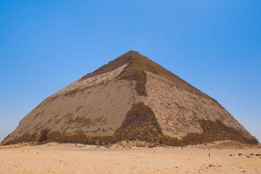 EMO TOURS EGYPT Half-Day Tour from Cairo: Dahshur Pyramids Sakkara and Memphis City