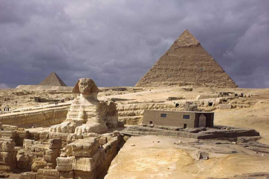 EMO TOURS EGYPT Half-Day Tour to Giza Pyramids, Memphis, and Dahshur