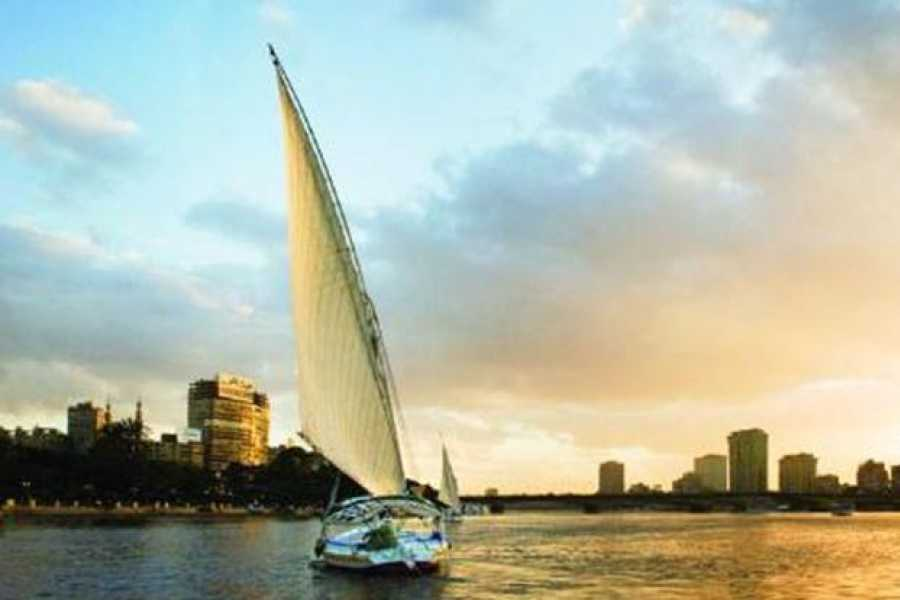 EMO TOURS EGYPT private Egyptian felucca ride on the Nile with traditional lunch