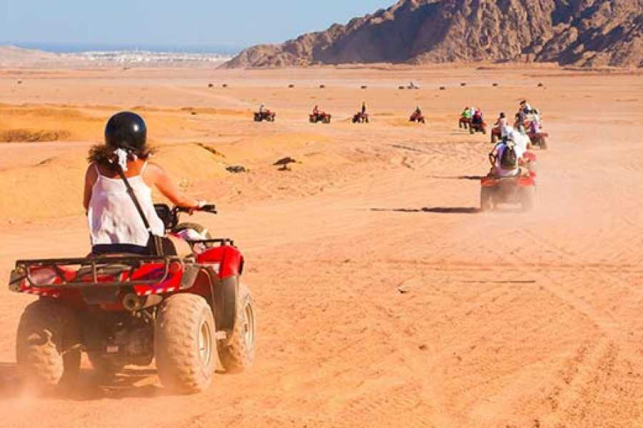 Marsa alam tours Super Safari tour From Hurghada