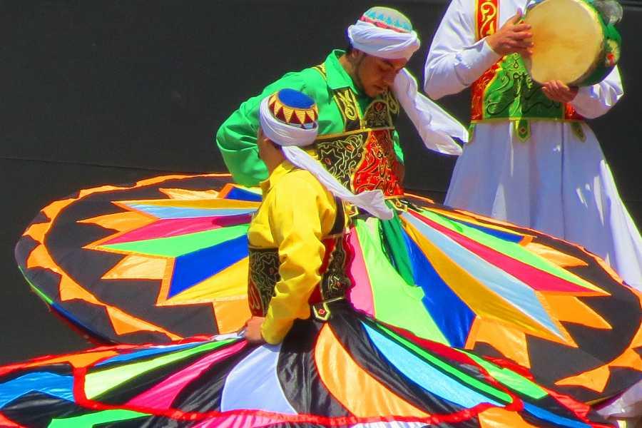EMO TOURS EGYPT Al Tannoura Egyptian Dance Heritage Show at Wekalet El Ghouri