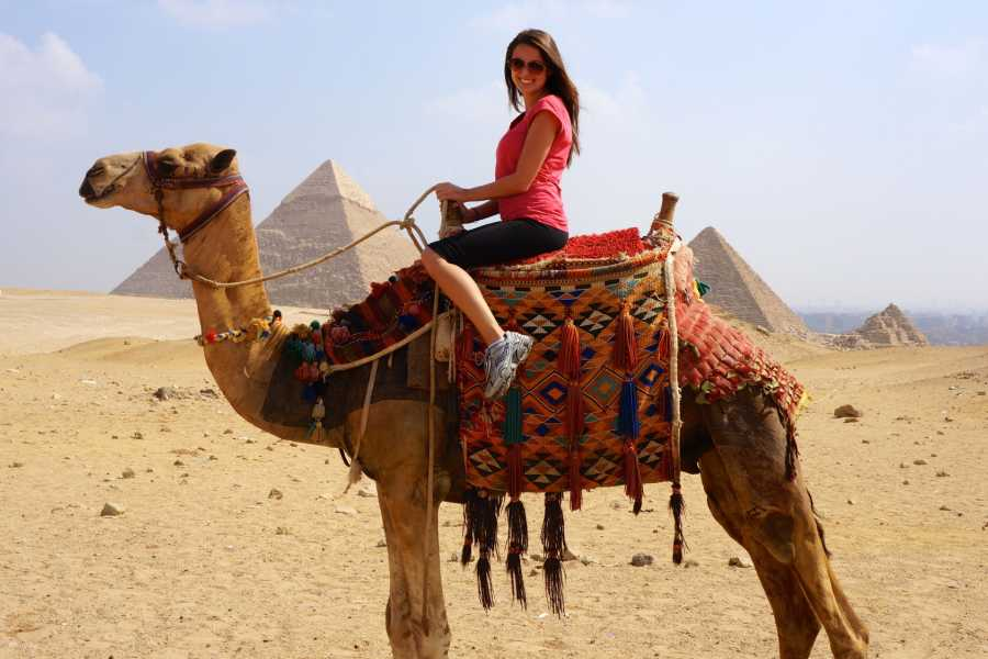 EMO TOURS EGYPT 1 Hour Camel ride trip at Giza Pyramids