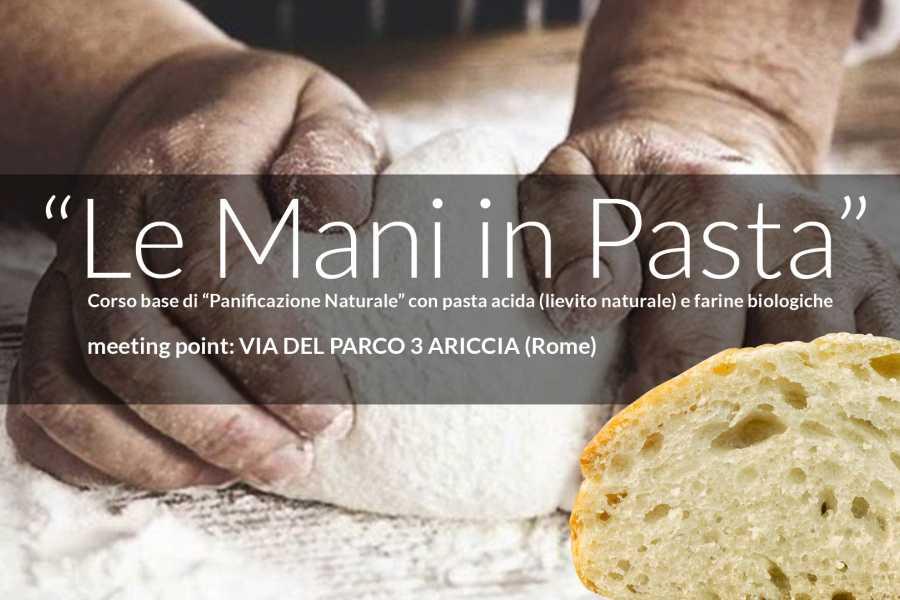 """Graffiti Sotto la Lente """"Le Mani in Pasta"""""""