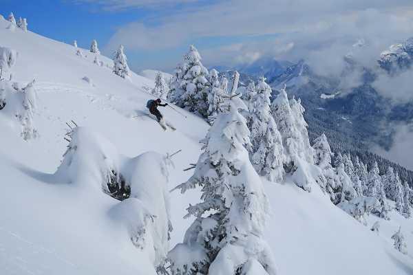 Ski Touring in Slovenian Alps