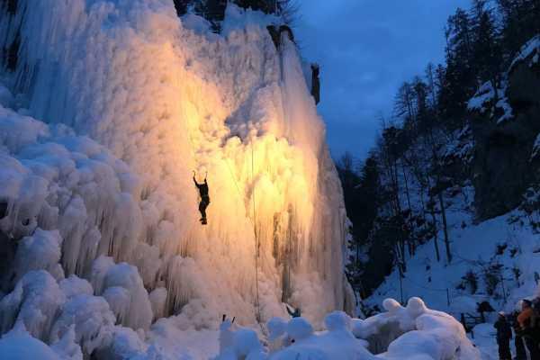Ice Climbing Day Trip