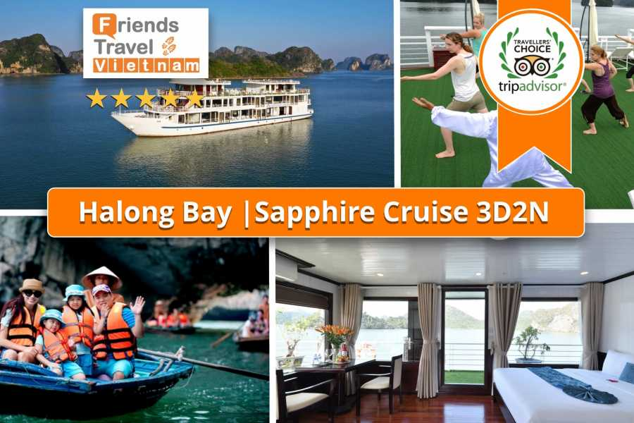 Friends Travel Vietnam Sapphire Cruise | 3D2N Ha Long Bay