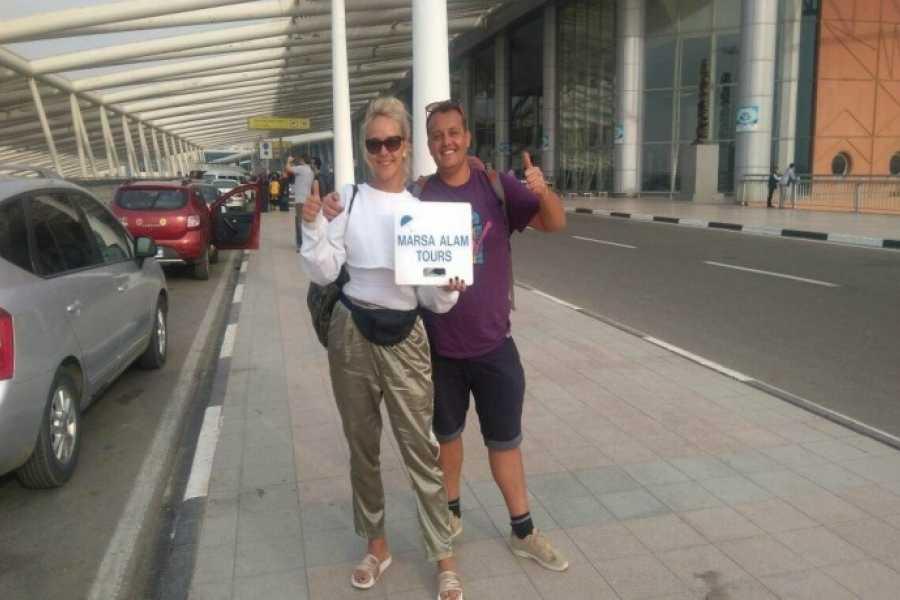 Marsa alam tours Transfer vom SUNRISE Marina Resort Port Ghalib zum Flughafen Marsa Alam