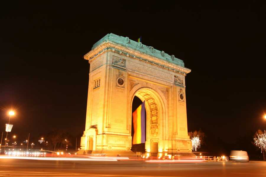 TravelMaker Bucharest Evening Tour & Traditional Dinner - shared - 3 hours