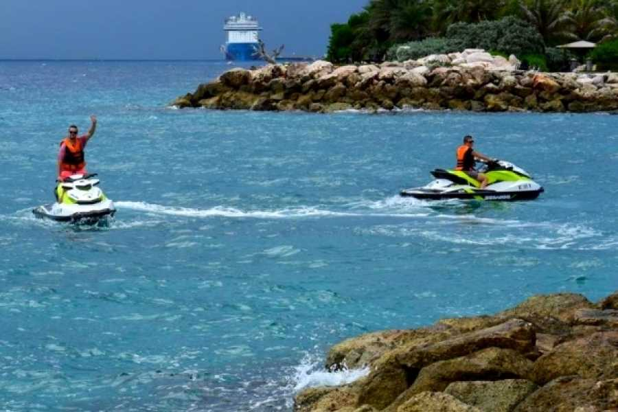 Blue Bay Dive & Watersports Mambo Jetski Beach Ride