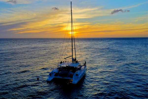 Blue C Watersports Sunset Sail Trip