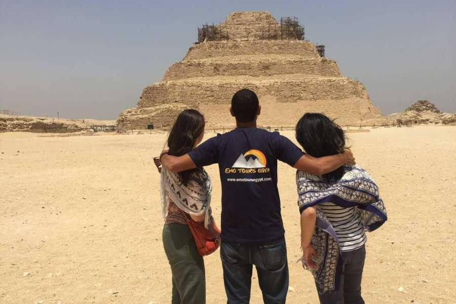 EMO TOURS EGYPT Full-Day Tour to Giza Pyramids, Memphis, and Sakkara