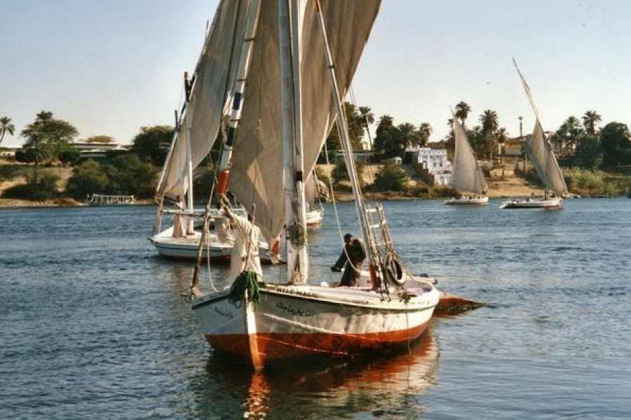 EMO TOURS EGYPT Nile River Felucca Ride in Luxor