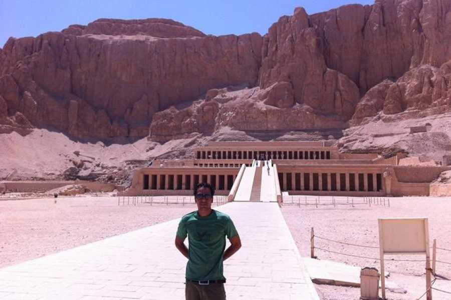 EMO TOURS EGYPT Private Half Day West Bank Tour to Valley of the Kings Queen Hatshepsut Temple and Colossi of Memnon