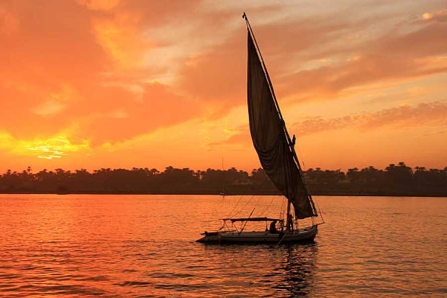 EMO TOURS EGYPT Nile Trip on Felucca for an hour in Aswan