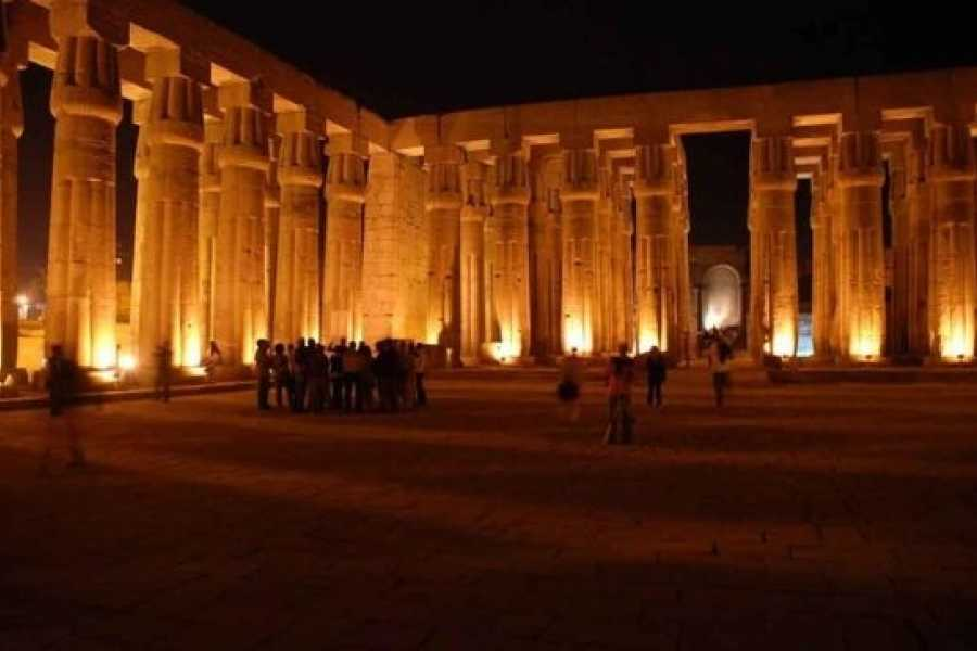 EMO TOURS EGYPT Sound and Light Show at Philae Temple in Aswan