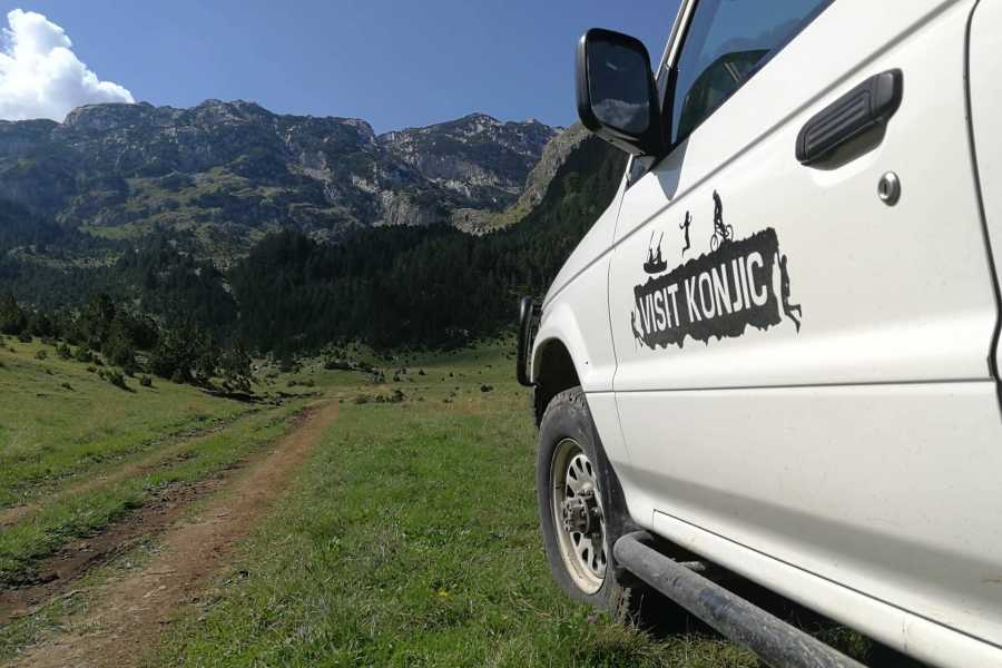 Visit Konjic Prenj jeep tour