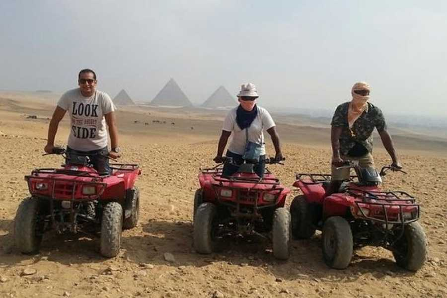 EMO TOURS EGYPT ATV at Giza Pyramids