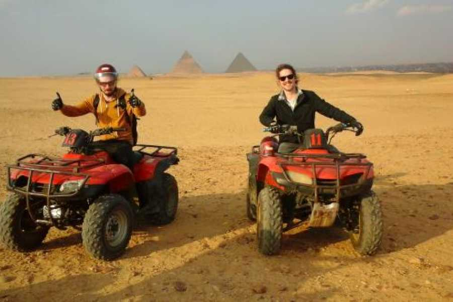 EMO TOURS EGYPT ATV at Giza Pyramids with Lunch