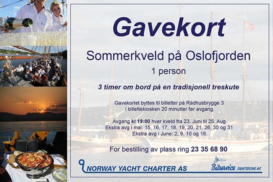 Norway Yacht Charter AS & Båtservice Sightseeing AS Norwegian Evening on the Fjord - Gift Card