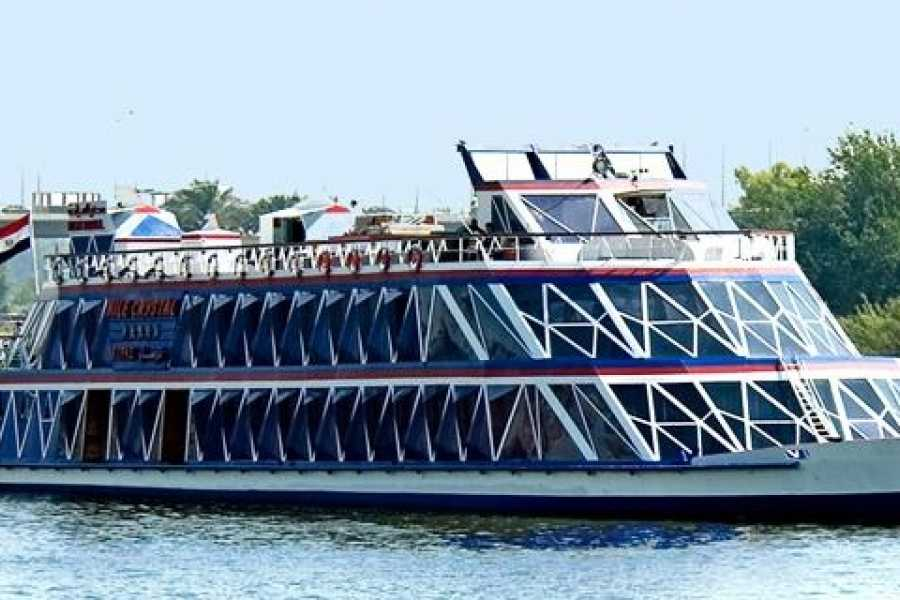 EMO TOURS EGYPT Book online Nile Crystal Dinner Cruise included pick up and drop off