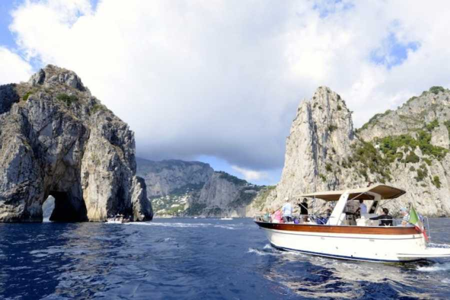 HP Travel Sorrento Coast and Capri Boat Experience from Positano