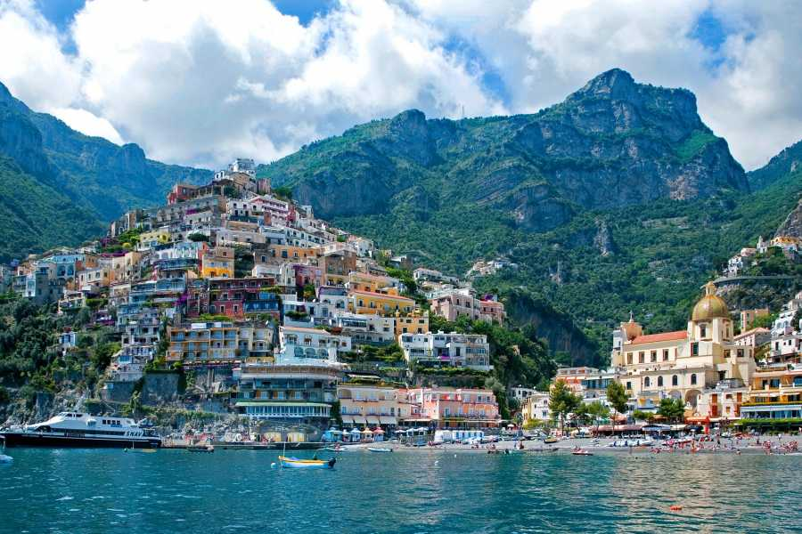 HP Travel Positano and Amalfi Boat Experience from Rome