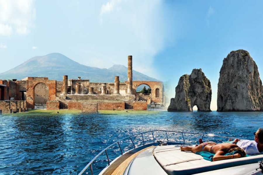 HP Travel Pompeii and Capri Boat Experience from Sorrento