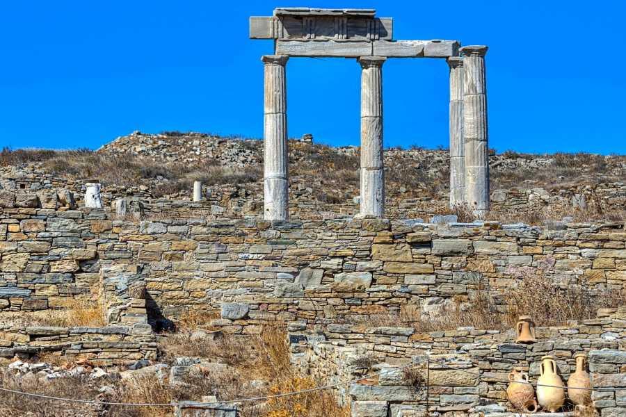 Grekaddict Ancient Delos Tour from Mykonos