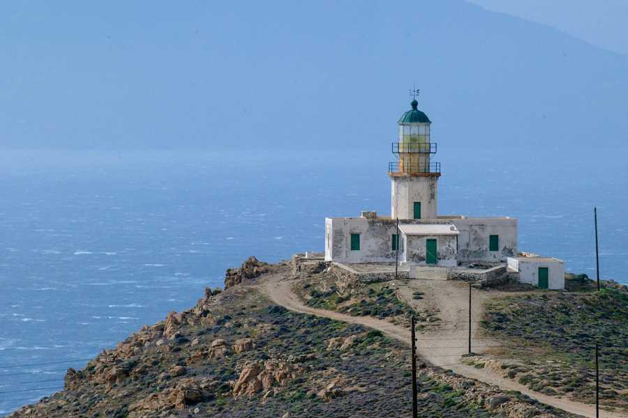 Grekaddict Armenistis Lighthouse Visit at Mykonos