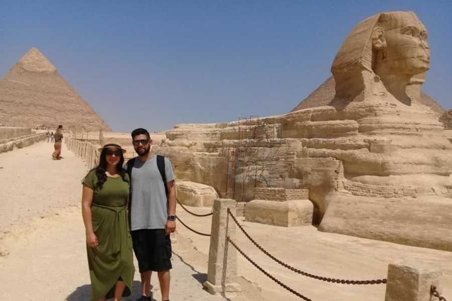 EMO TOURS EGYPT Day tour to the pyramids the Sphinx the valley Temple and papyrus Center