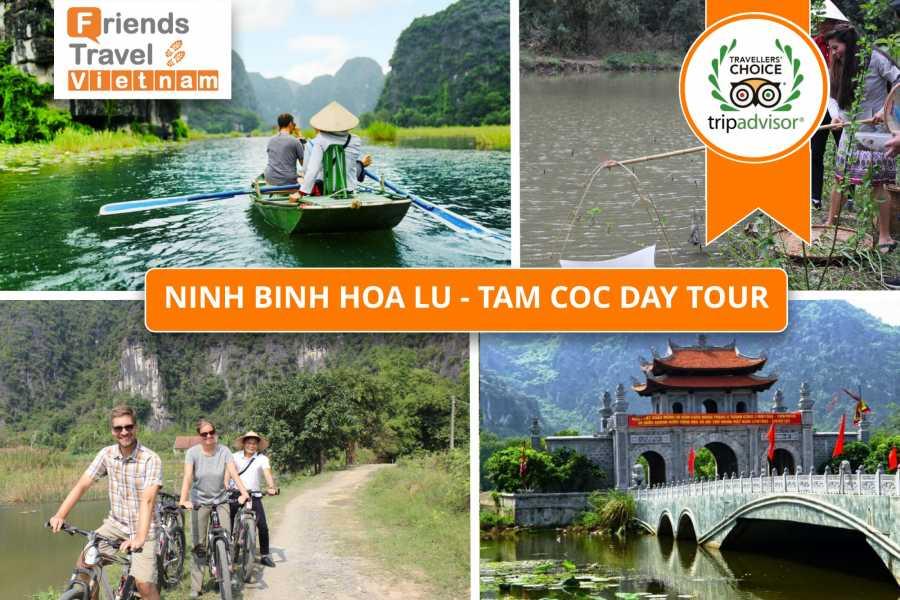 Friends Travel Vietnam Ninh Binh Hoa Lu - Mua Cave - Tam Coc Day Tour | Small Group