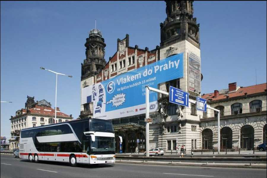 Turistico s.r.o. Reforma de la estación ferroviaria de Praga