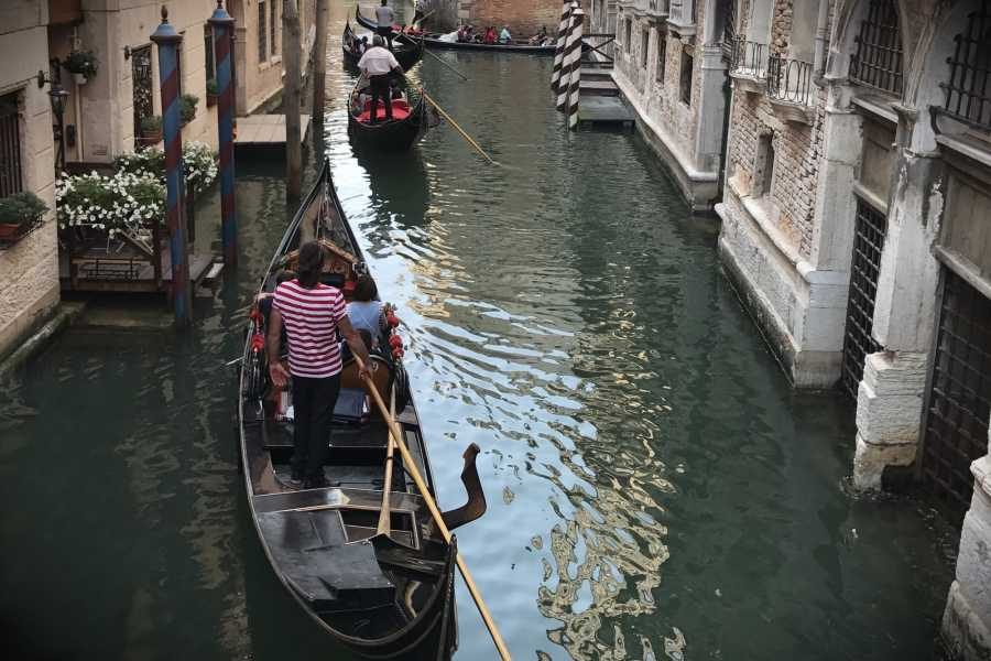 Venice Tours srl Grand Canal by Gondola with music and singer- Skip the line with Commentary