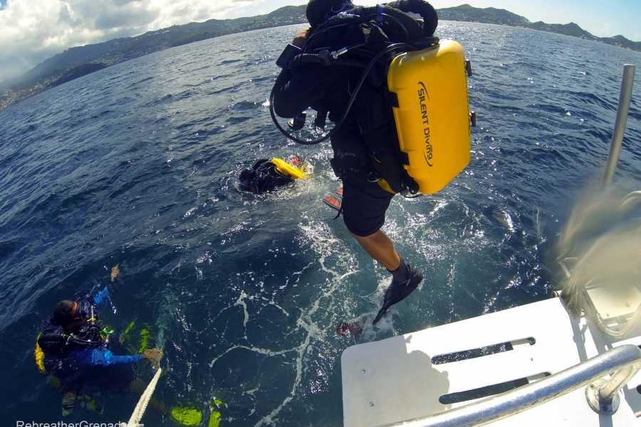 Aquanauts Grenada CCR Morning 2 Tank Dive Trip