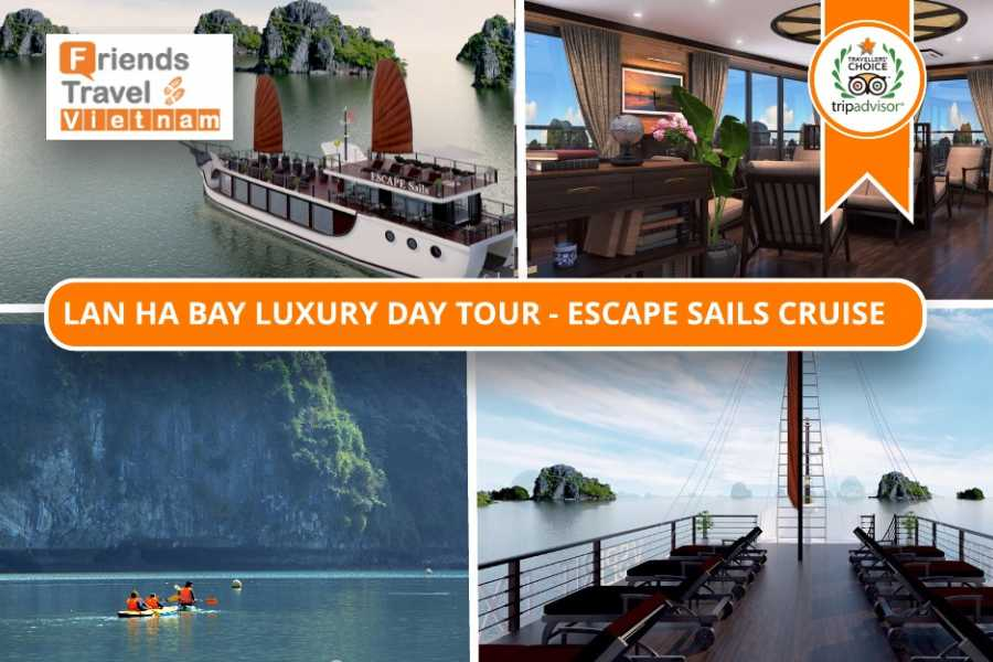 Friends Travel Vietnam Lan Ha Bay Luxury Day Tour - Escape Sails Cruise