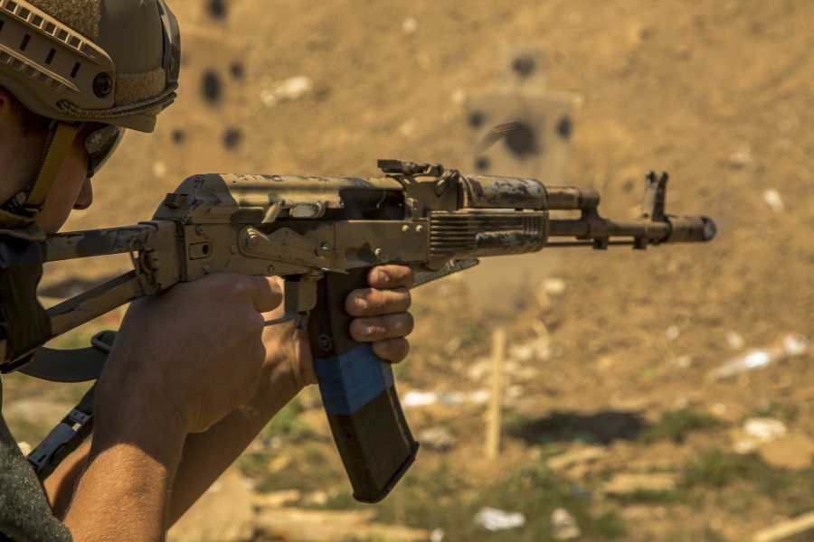 Turistico s.r.o. Kalashnikov shooting