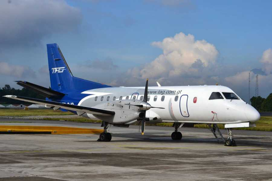 Gem Trips Flight from Guatemala City to Flores round trip